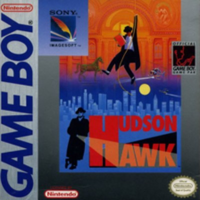 Hudson Hawk Cover Art