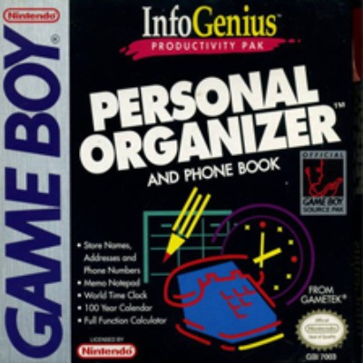 Infogenius: Personal Organizer Cover Art