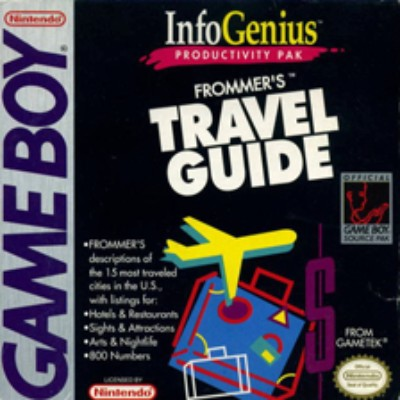 Infogenius: Travel Guide Cover Art