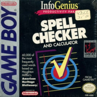 Infogenius: Spell Checker Cover Art
