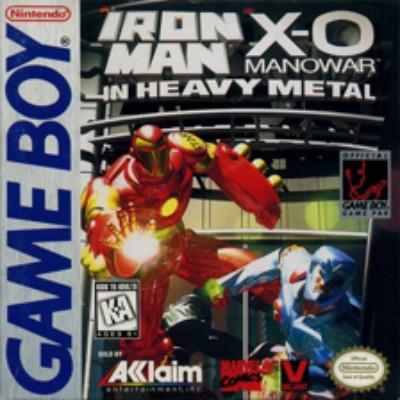 Iron Man X-O Manowar in Heavy Metal Cover Art