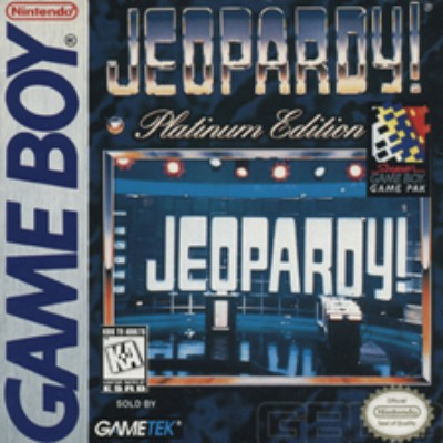 Jeopardy! Platinum Edition Cover Art