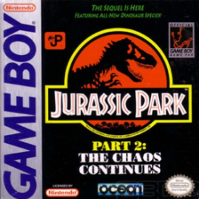 Jurassic Park 2: The Chaos Continues Cover Art
