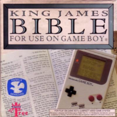 King James Bible Cover Art