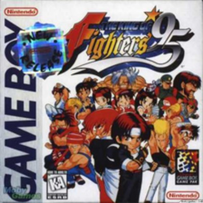 King of Fighters '95 Cover Art