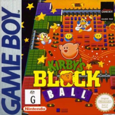 Kirby's Block Ball Cover Art