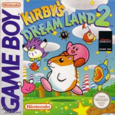 Kirby's Dream Land 2 Cover Art