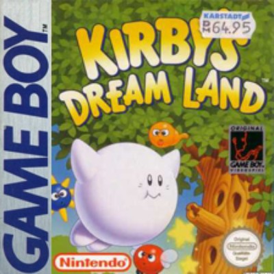 Kirby's Dream Land Cover Art