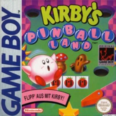 Kirby's Pinball Land Cover Art