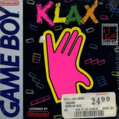 Klax Cover Art