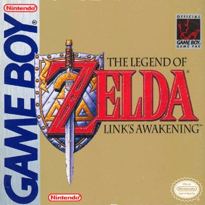 Legend of Zelda: Link's Awakening Cover Art