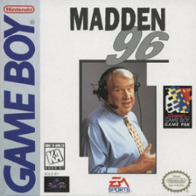 Madden '96 Cover Art
