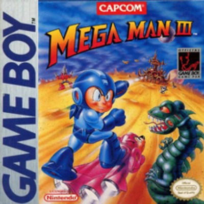 Mega Man III Cover Art