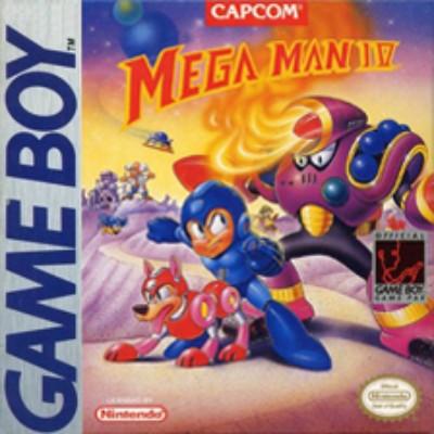 Mega Man IV Cover Art