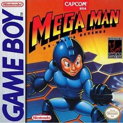 Mega Man: Dr. Wily's Revenge Cover Art