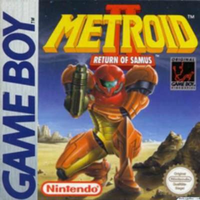Metroid II: Return of Samus Cover Art