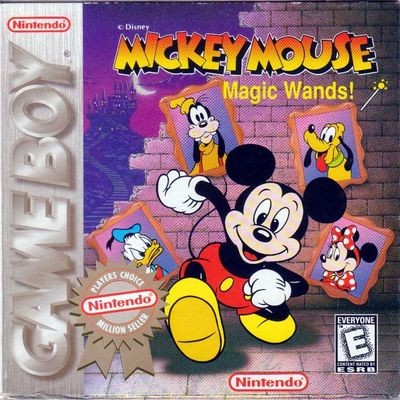 Mickey Mouse Magic Wands Cover Art