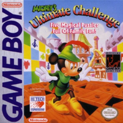 Mickey's Ultimate Challenge Cover Art