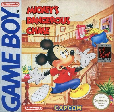 Mickey's Dangerous Chase Cover Art