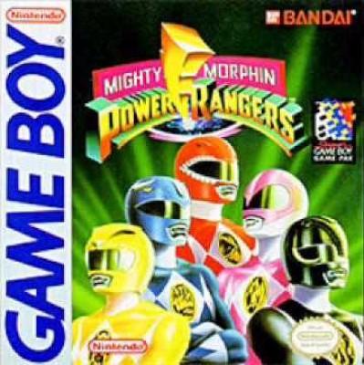 Mighty Morphin' Power Rangers Cover Art