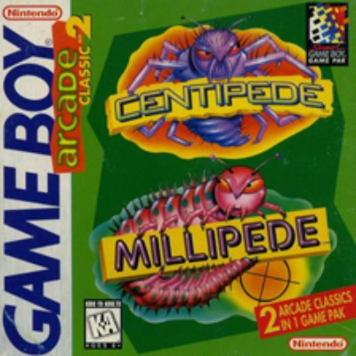 Arcade Classics #2: Centipede, Millipede Cover Art