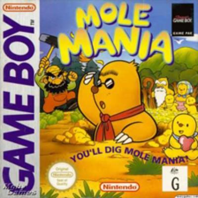 Mole Mania Cover Art