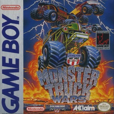 Monster Truck Wars Cover Art
