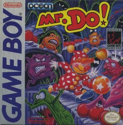 Mr. Do! Cover Art