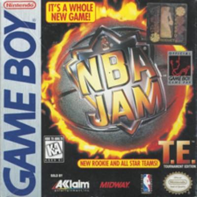 NBA Jam Tournament Edition Cover Art