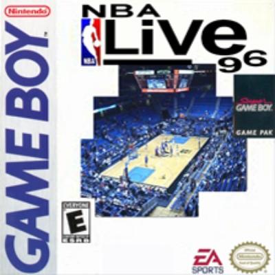 NBA Live '96 Cover Art