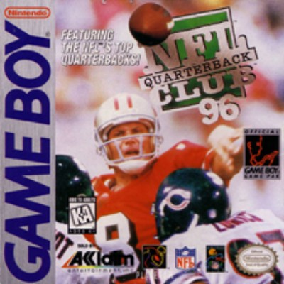 NFL Quarterback Club '96 Cover Art