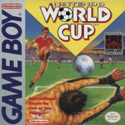 Nintendo World Cup Soccer Cover Art