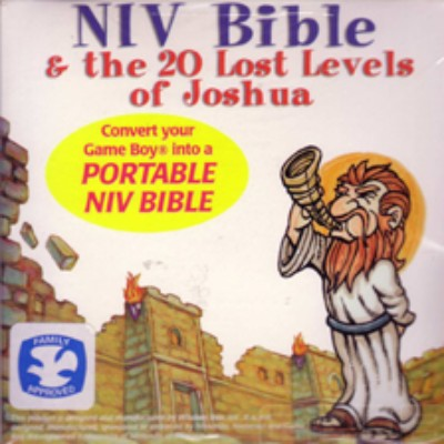 NIV Bible and the 20 Lost Levels of Joshua Cover Art