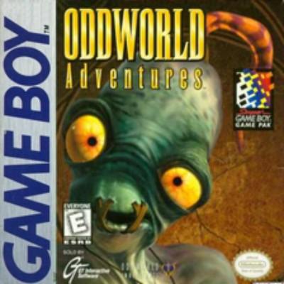 Oddworld Adventures Cover Art