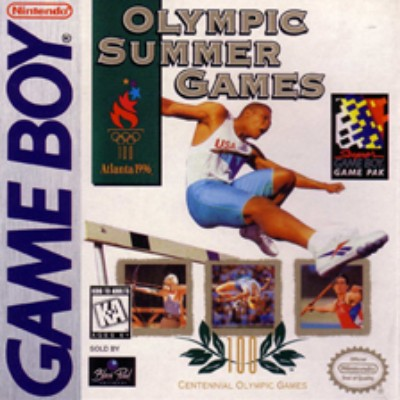 Olympic Summer Games Cover Art
