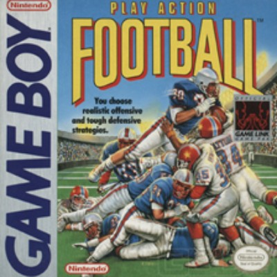 Play Action Football Cover Art