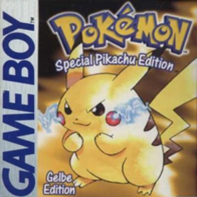 Pokemon Yellow Version Cover Art