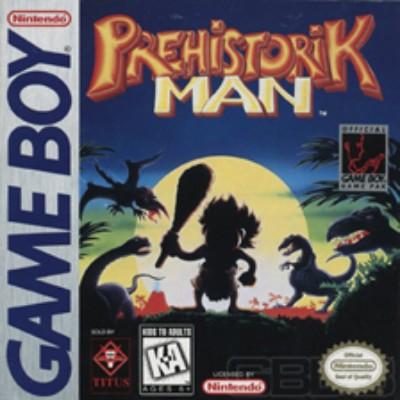 Prehistorik Man Cover Art