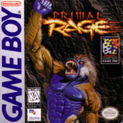 Primal Rage Cover Art