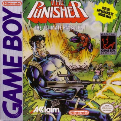 Punisher Cover Art