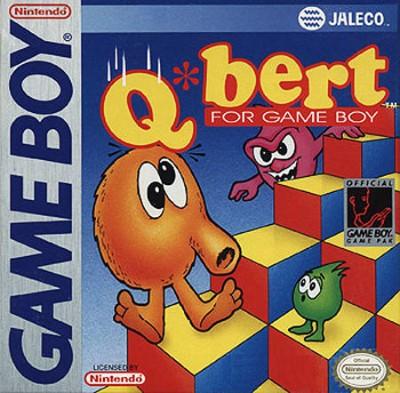 Q*bert Cover Art