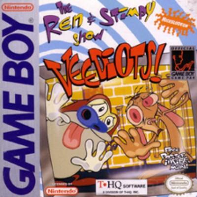 Ren & Stimpy Show: Veediots! Cover Art