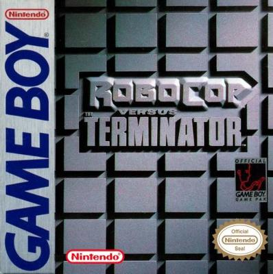 RoboCop vs. Terminator Cover Art
