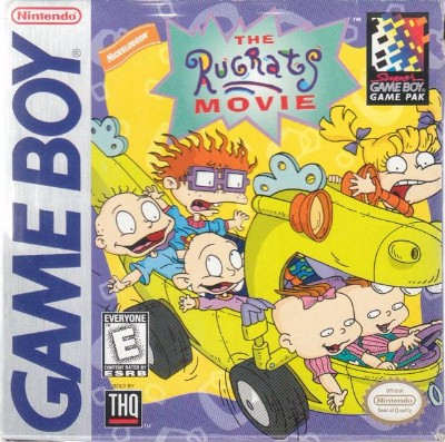 Rugrats: The Movie Cover Art