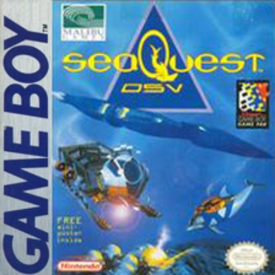 SeaQuest: DSV Cover Art