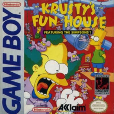 Krusty's Fun House Cover Art