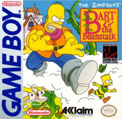 Simpsons: Bart & the Beanstalk Cover Art