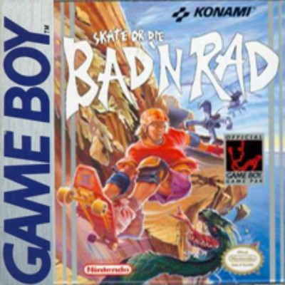 Skate Or Die: Bad 'N Rad Cover Art