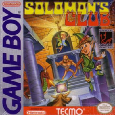 Solomon's Club Cover Art