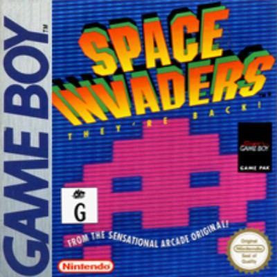 Space Invaders Cover Art